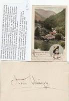 Toni Schläger (=Antonie Lautenschläger, 1860-1910) österreichischer Sopran / ...