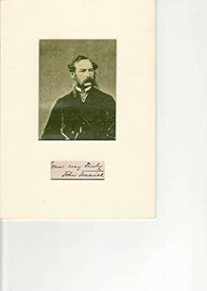 """JOHN TENNIEL (1820-1914) englischer Zeichner und Karikaturist """"Punch"""", illustrierte u.a. ..."""