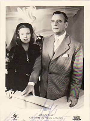 CURT GOETZ (1888-1960) dt. Schauspieler, Regisseur und Autor & VALERIE VON MARTENS-GOETZ (1894-...