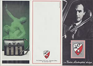 FERRUCCIO LAMBORGHINI (1916-93) legendärer italienischer Automobilkonstrukteur, ...