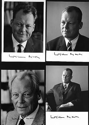 WILLY BRANDT (1913-92) BUNDESKANZLER / FRIEDENSNOBELPREIS ...