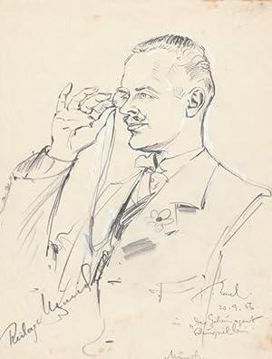 RICHARD MÜNCH (1916-87) deutscher Schauspieler: RICHARD MÜNCH (1916-87) deutscher Schauspieler