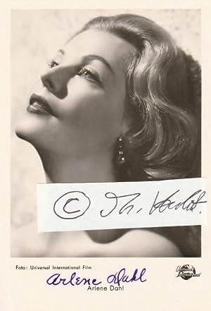 ARLENE DAHL (1925) US-amerikanische Schauspielerin, die vor allem in den 1950er Jahren als ?...