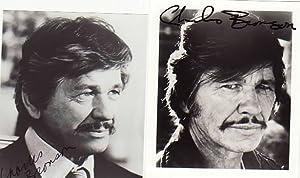 CHARLES BRONSON (1921-2003) amerikanischer Actionstar, u.a. Spiel mir das Lied vom Tod, Ein Mann ...