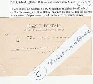 SALVADORE DALI (Salvador Dali,1904-89) spanischer Surrealist, gilt als exzentrischster Kü...