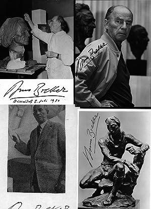 ARNO BREKER (1900-91) Professor Dr., deutscher Bildhauer: ARNO BREKER (1900-91)