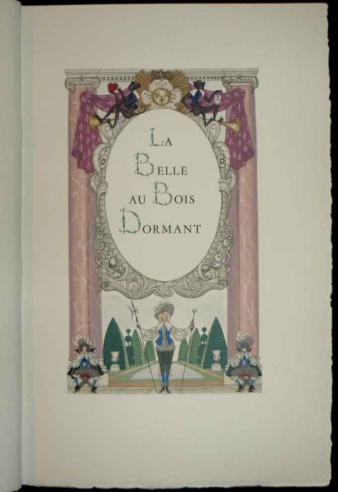 Trois contes de perrault la belle au bois dormant la barbe bleue cendrillon dessins de henry - Dessin de la belle au bois dormant ...