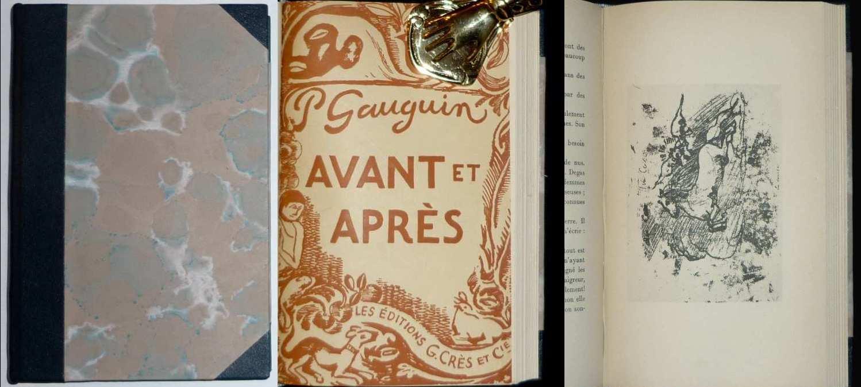 Avant et après. Avec les vingt-sept dessins: Gauguin, Paul: