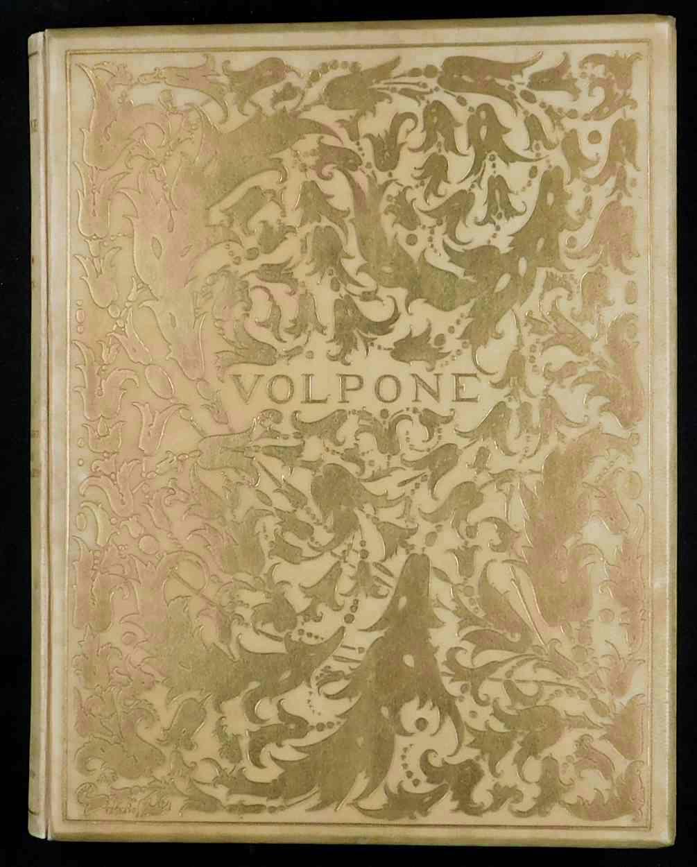 Volpone. Mit Initialen, einem Titelblatt und Deckel: Beardsley, Aubrey und