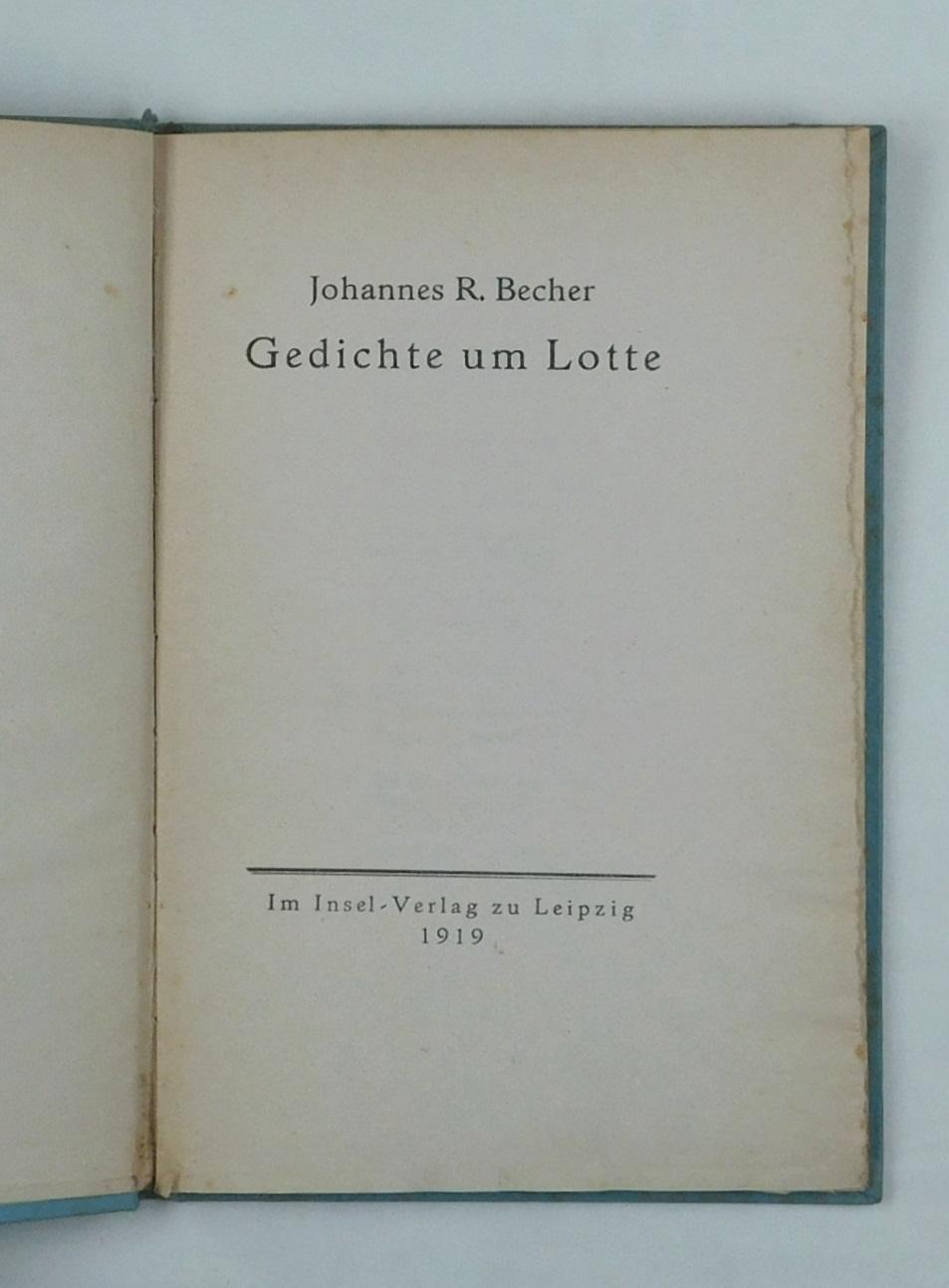 Gedichte Um Lotte