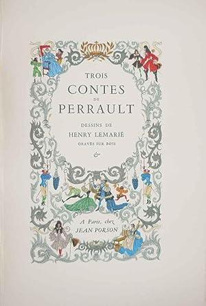 Trois contes de Perrault. La Belle au: Perrault, (Charles). -