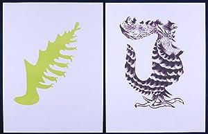Géographie animale. Dix-huit lithographies originales avec textes: Lurçat, Jean: