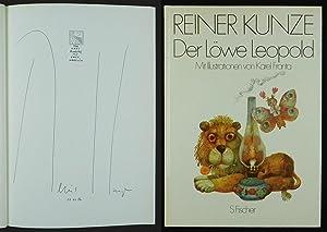 Der Löwe Leopold. Fast Märchen, fast Geschichten. Mit Illustrationen von Karel Franta.: Kunze, ...
