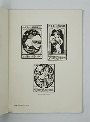 Ex Libris Buchkunst und Angewandte Graphik 1920: Corwegh, Robert und