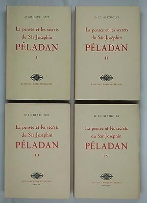 La Pensée et les secrets du Sâr Joséphin Péladan. I: Péladan Grand Maître de l'Ordre de la ...