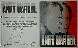 Andy Warhol. Ein Buch zur Ausstellung. Mit: Warhol, Andy. -