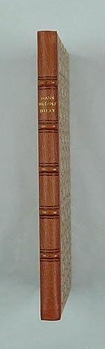 Das Indisch-Rote Heft.: Hilty, Hans Rudolf: