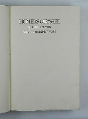 Homers Odyssee übersetzt.: Homer - Voss,