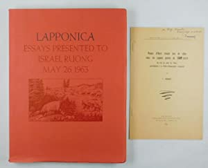 Lapponica. Essays presented to Isarael Ruong, May