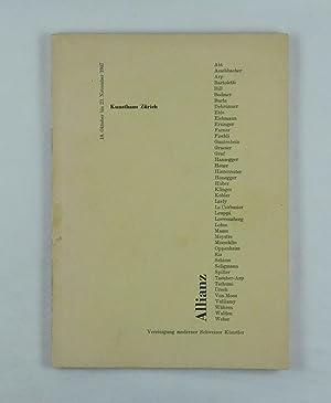 Wegleitung zur Allianz-Ausstellung 1947. Texte von Leo