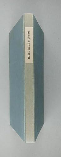 Gedichte). Herausgegeben von Carl von Kraus.: Walther von der Vogelweide: