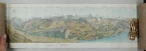 Panorama vom Rothhorn an der Grenze der Cantone Bern, Lucern und Unterwalden. Panorama du Rothhorn ...