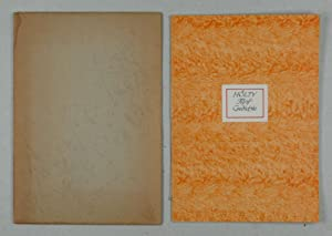 Fünf Gedichte. Geschrieben von Paul Paul Hartmann. (Kalligraphgische Handschrift).: Hartmann, Paul ...
