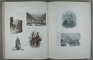 Der Vierwaldstätter See und die Urkantone. Pracht-Album mit 800 Illustrationen in Photogravure und ...