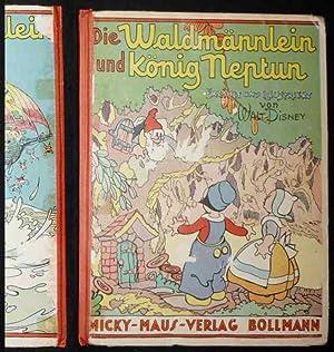 Die Waldmännlein und König Neptun. Erzählt und illustriert von Walt Disney.: Disney, Walt: