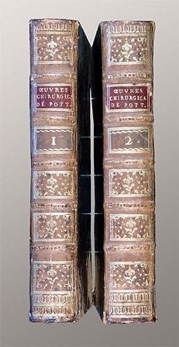 Oeuvres chirurgicales traduites de l'anglois, sur la seconde édition par **.: Pott, Percival: