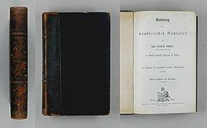 Katalog des Künstlerischen Nachlasses von Carl Friedrich Schinkel im Beuth-Schinkel-Museum in ...