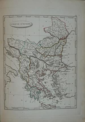 Géographie moderne, . Atlas. Dressées par Arrowsmith, d'après les dernières et les meuilleures ...