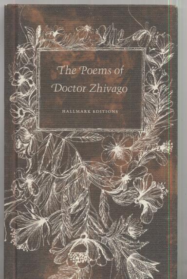 The Poems Of Doctor Zhivago De Boris Pasternak Hallmark