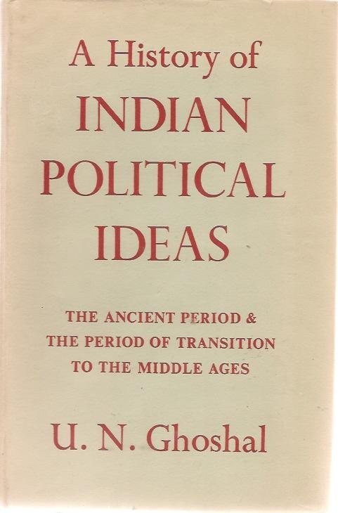 Ghoshal History Political Ideas cover art