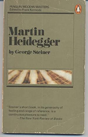 Martin Heidegger: George Steiner