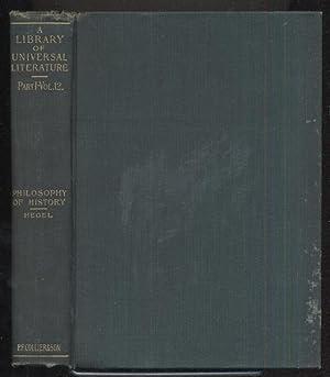 The Philosophy of History: G W F HEGEL