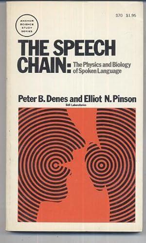 The Speech Chain: Peter B. Denes