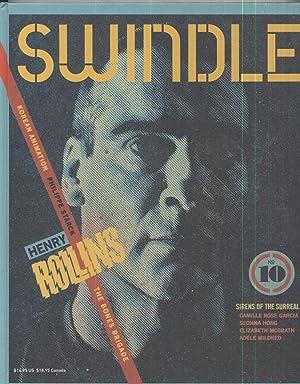 Swindle Magazine: Amanda Ferley / Henry Rollins