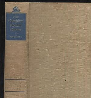 The Complete Roman Drama: George Duckworth