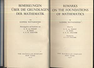 Remarks on the Foundations of Mathematics: Ludwig Wittgenstein
