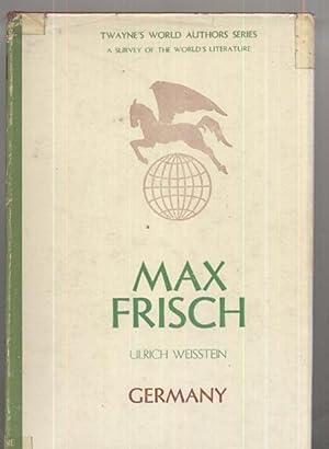 Max Frisch: Ulrich Weisstein