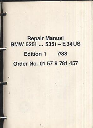 REPAIR MANUAL BMW 525i.535i: BMW