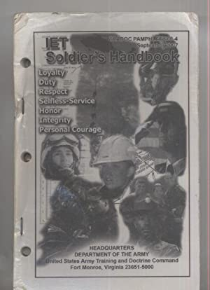 Initial Entry Training (IET) SOLDIERS HANDBOOK: Department of the