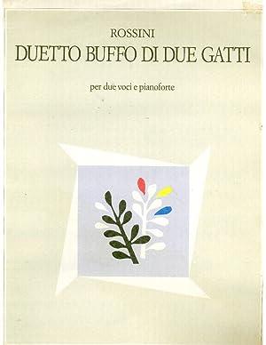 Duetto Buffo di Due Gati: Rossini