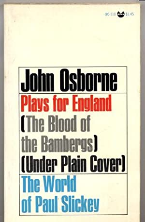 Plays for England / The World of Paul Slickey: John Osborne