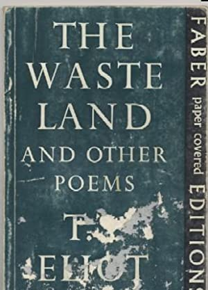 an introduction to the literary analysis of the waste land by t s eliot The theme of death and rebirth, central to the waste land, is found throughout eliot's work, as is his preoccupation with man's place in a world governed by the exigencies of time eliot received.
