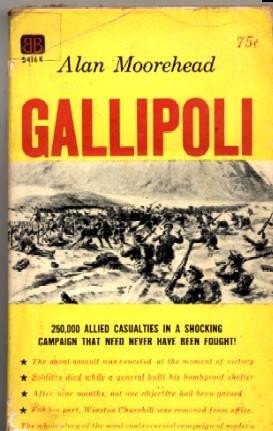 Gallipoli: Alan Moorehead