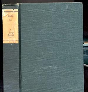 Back to Methuselah. A Metabiological Penateuch: Bernard Shaw