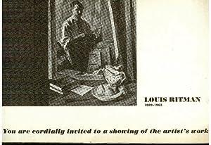 Louis Ritman 1889-1963: Ontario East Gallery