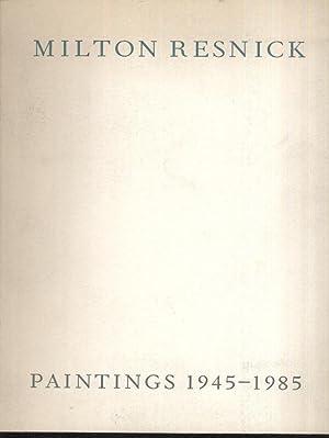 Milton Resnick: Paintings 1945-1985: Linda L. Cathcart